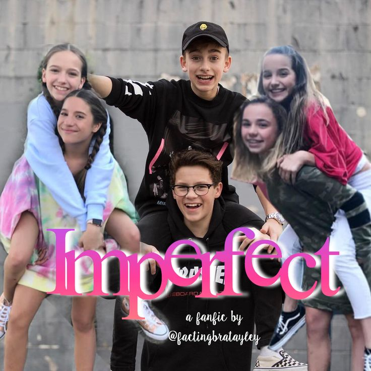 imperfect ( an original fanfic by me!) Ages- Annie-14 Hayden-14 Mackenzie-15 Johnny-15 Katie-15 Jayden-14 Plot- Annie, Hayden, Mackenzie, and Johnny are the perfect group of friends. Johnny and Mackenzie have NO interest in eachother WHATSOEVER, but Hayden and Annie have always had a little thing But then, just before spring break two girls named Katie and Jayden become a part of the group, and are immediately attracted to Hayden... WILL THIS RUIN RELATIONSHIPS? STAY TUNED TO FIND OUT!