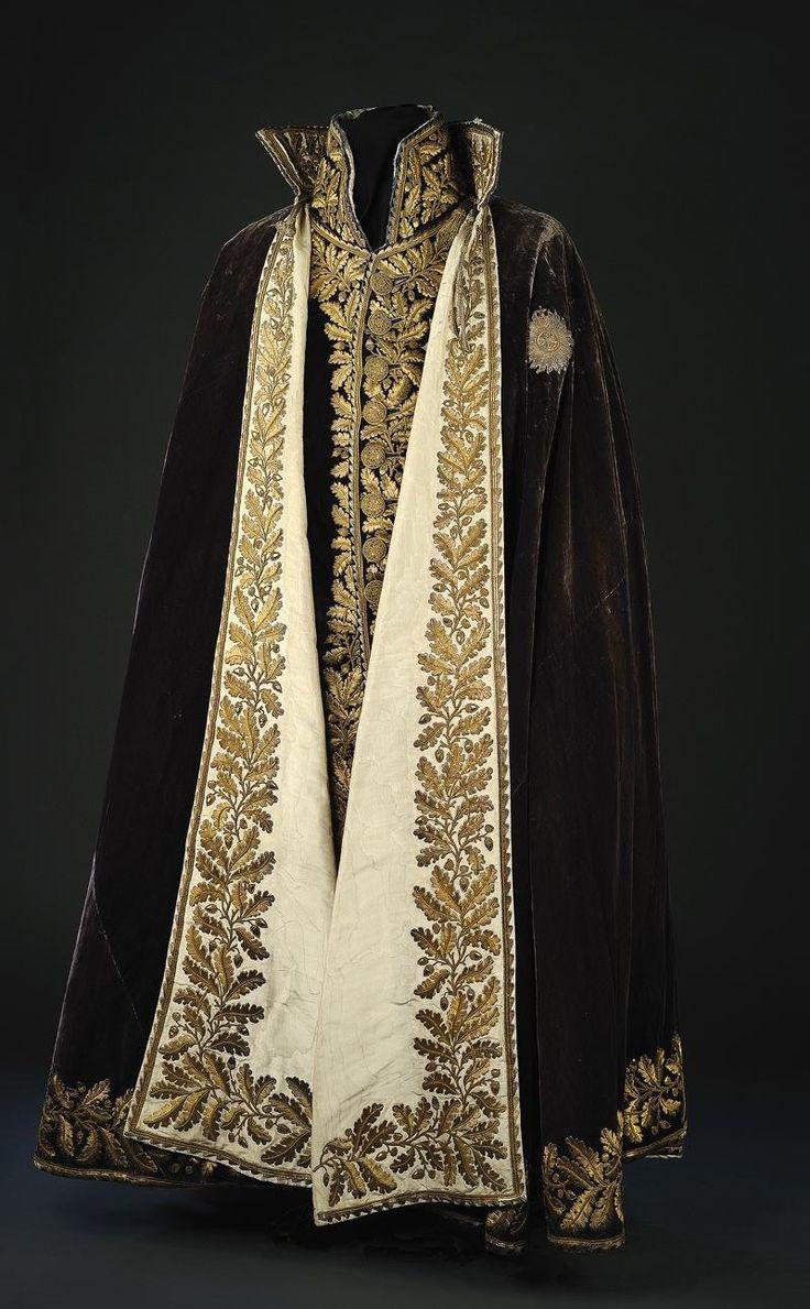 black and gold cloak