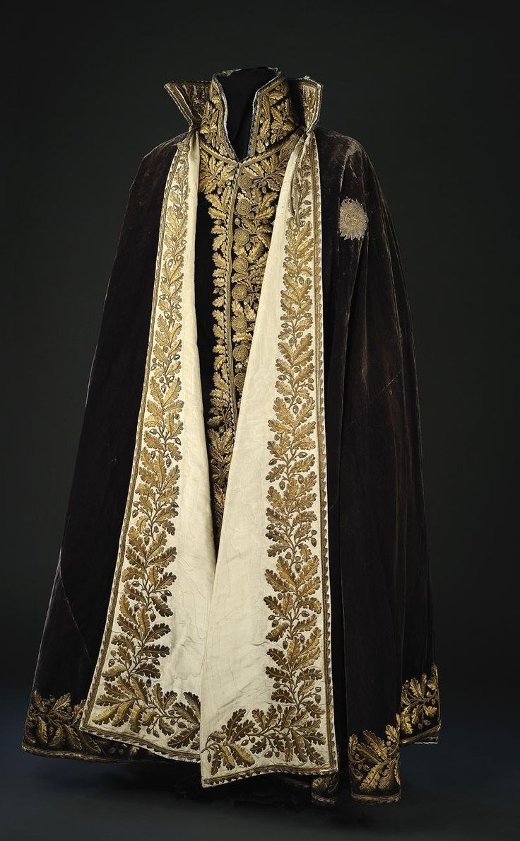 black and gold cloak