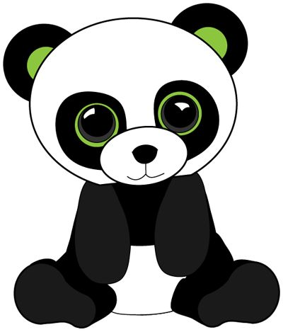 How to draw a cute baby panda - photo#8