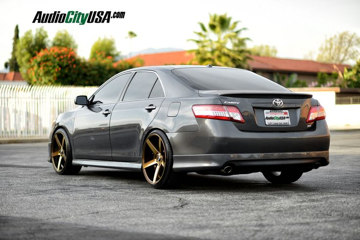 Audiocityusa Com 2011 Toyota Camry On 20 Quot Str Wheels 607