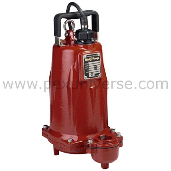Manual Effluent Pump, 25' cord, 2 HP, 208/230V
