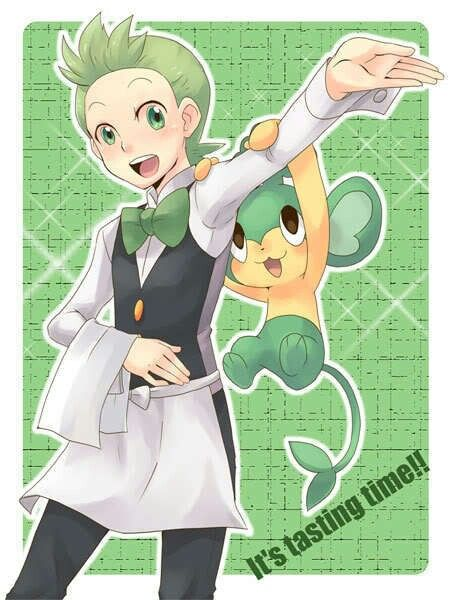Cilan and his pansage