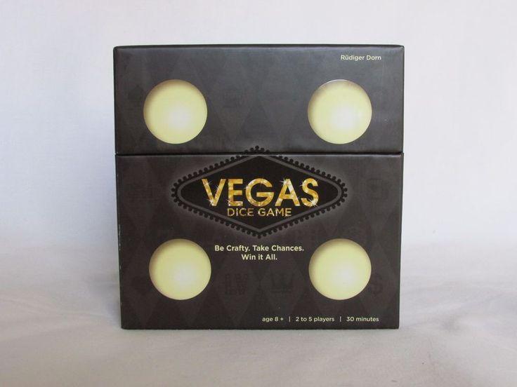 Vegas Casino Table Dice Game New Sealed Box #Ravensburger