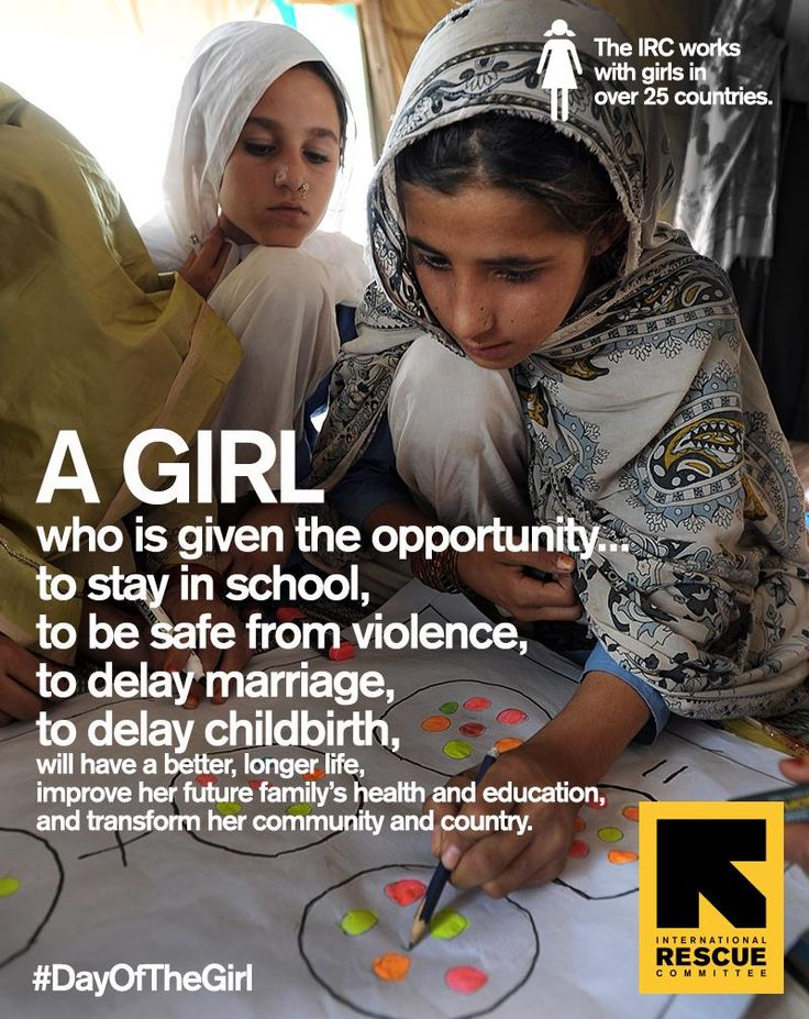 Celebrating #DayOfTheGirl all week. Let's give all girls the opportunity to live her best life.