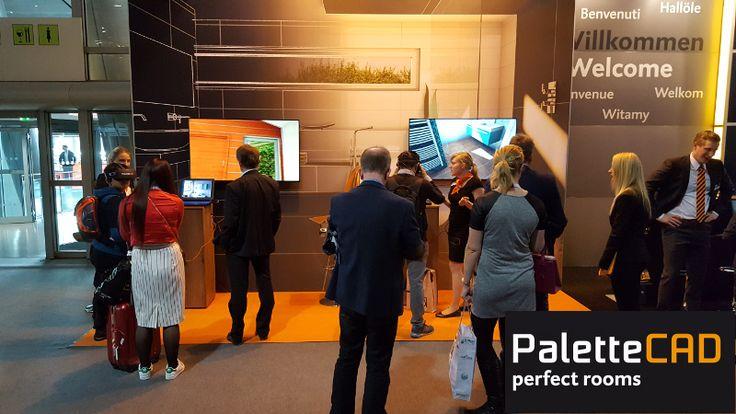 Epic Mit virtuellen R umen lassen sich unsere Besucher begeistern ISH ISH PaletteCAD VirtualReality Frankfurt Messe Apps KostenloseApp Pinterest