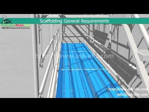 General Requirements for Scaffolding Safety Erection and Dismantle Procedure - YouTube