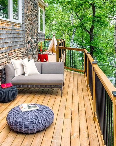 114 best Wood and hardwood deck ideas images on Pinterest ...