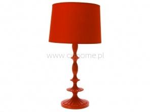 Lampa stołowa LEITMOTIV Now & Then czerwona  http://www.citihome.pl/lampa-stolowa-leitmotiv-now-then-czerwona.html