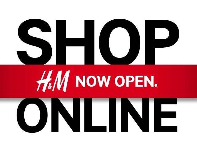HM online shopping has launched!