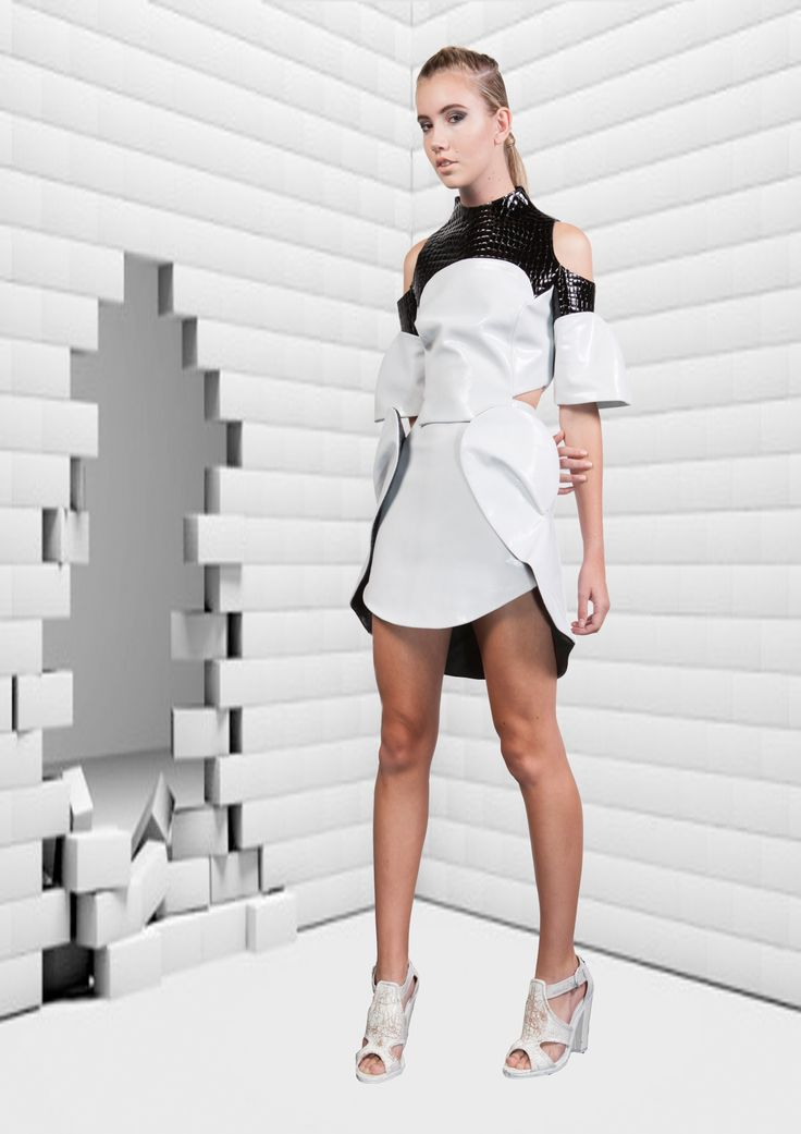 Surasit Liphan # skirt and top leather 2014