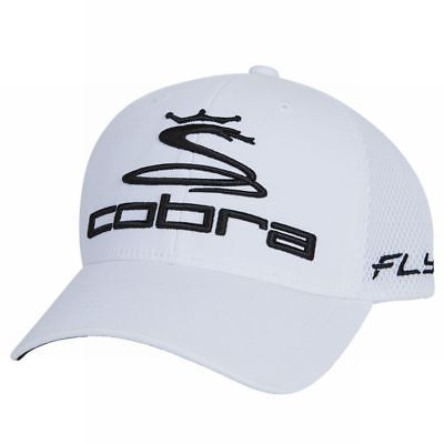 207b09202b0 King Cobra Pro Tour Fly-Z Sport Mesh Cap (White S M) Golf Hat NEW ...