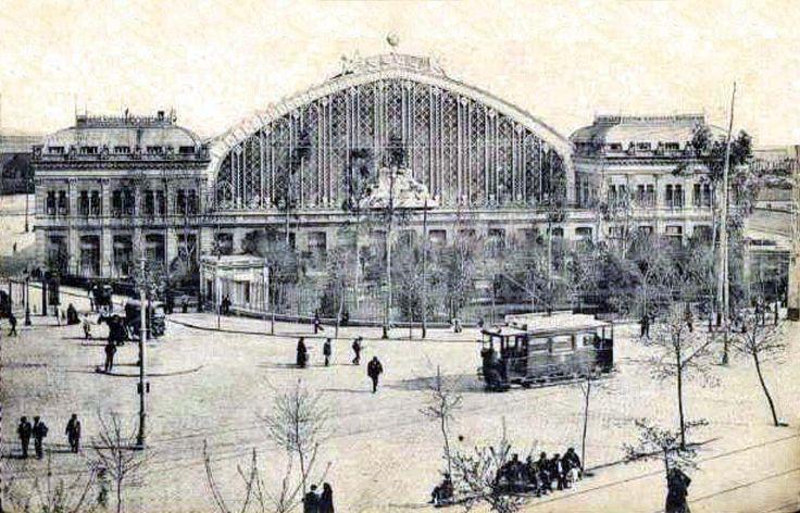 Estación Mediodía a principios siglo XX, Madrid - Portal Fuenterrebollo