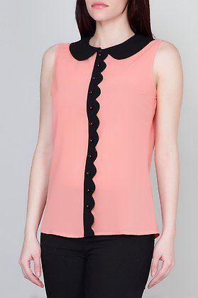 Camisa de gasa bicolor-elarmariodelatele