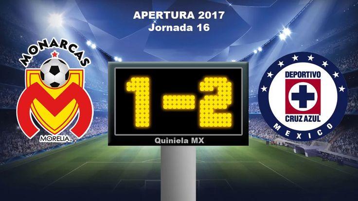 Resultados y Tabla General Jornada 16 Liga MX Apertura 2017 ⚽  Quiniela MX