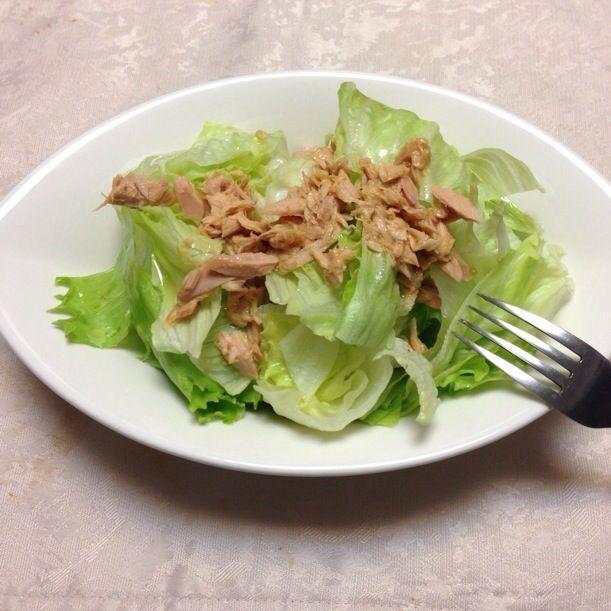 サラダ油は万病の元。レシピはDE-OILブログをご覧下さい。 http://deoil.blog.fc2.com/ - 3件のもぐもぐ - ツナとレタスのサラダ by Yoko Hayashi