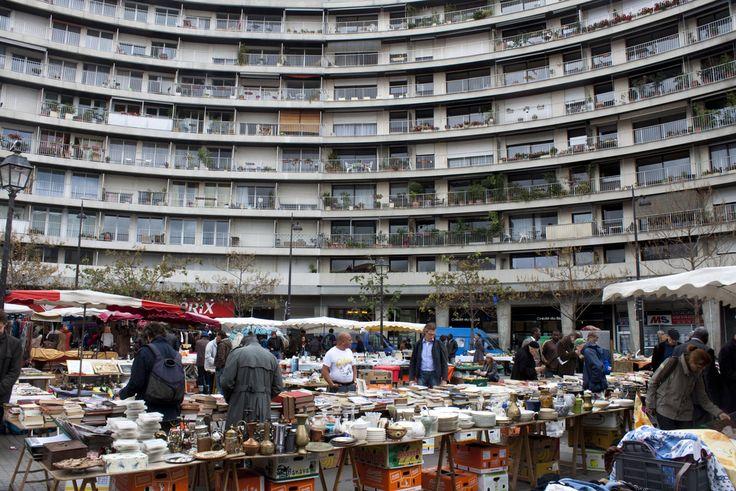 Flea market near Marche Place d'Aligre Marché Place d'Aligre, Paris | mathieus pictures