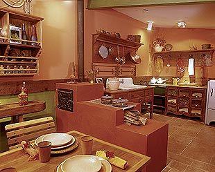Mel Morena - Uma boutique de Idéias sobre moda e decoração: Cozinhas charmosas com fogão a lenha