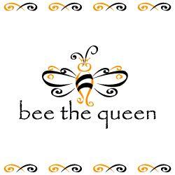 Queen Bee Logo Logo Design Bee...
