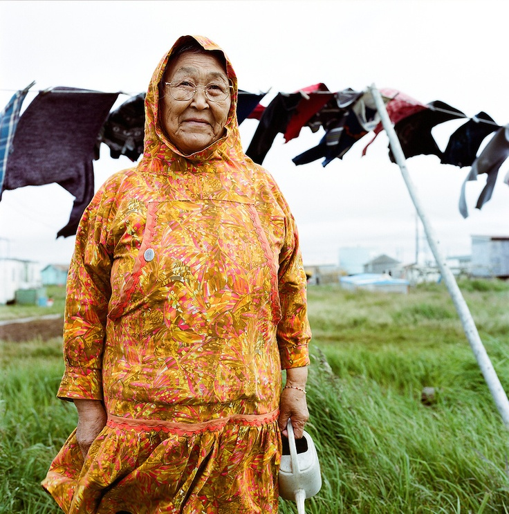 """people of alaska and their eskimo culture """"i want them to be able to connect to their culture and people won't group us in as  little people that live in igloos and give little eskimo kisses all."""