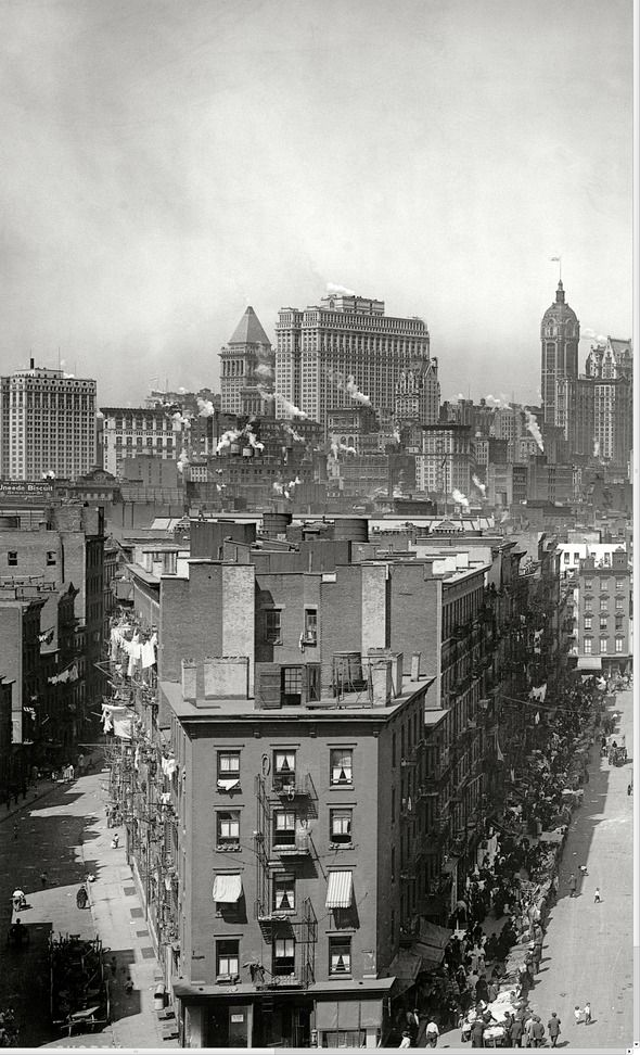 Manhattan Skyline, 1915