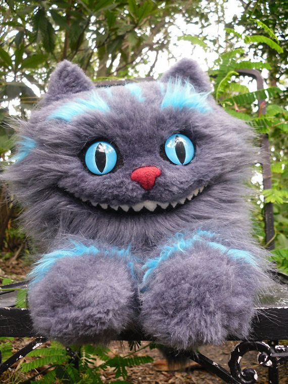 24 Cheshire Cat Plush  Made to Order by amazingowl on Etsy, $250.00