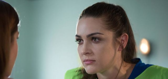 Hollyoaks First Look: Sienna's back on tonight!   Watch this exclusive clip of Siennas return.  Hollyoaks spoilers preview a clip of Sienna facing some very intense questions from Maxine.  Are you happy to see Sienna back on your screens?  Hollyoaks TV UK Soaps UK Spoilers