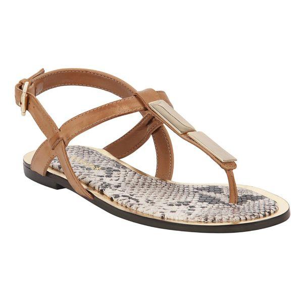 Summer Flat! #shoestock #bestsellers #flat #rasteira #caramelo - Ref 24.04.1193