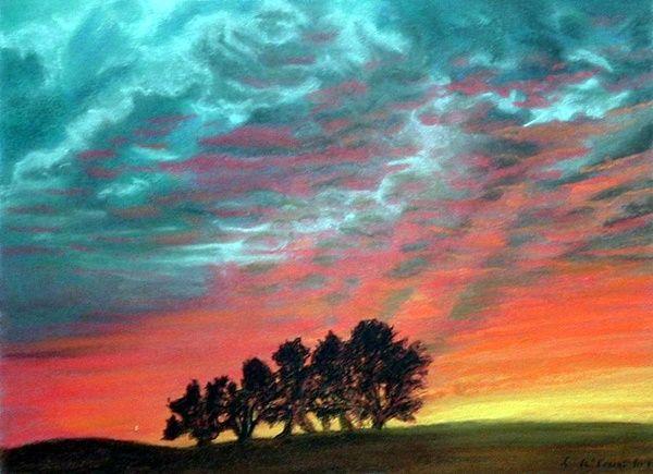 40 Easy Pastel Paintings For Beginners Pastel Paintings