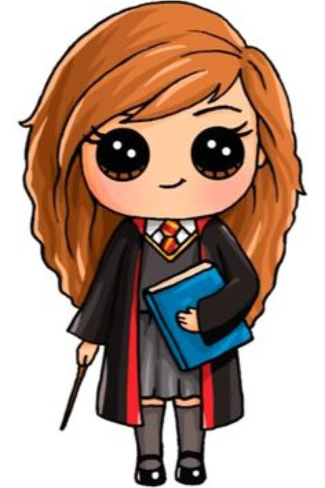 Hermelien Griffel Dessin Kawaii Personnage Kawaii Art Harry Potter