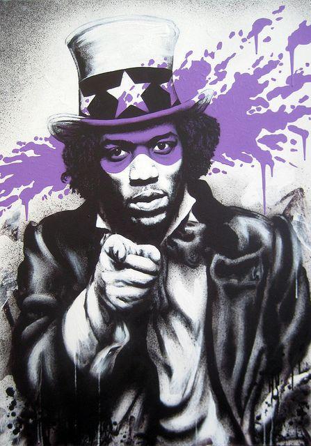 Hendrix by Fin DAC, via Flickr