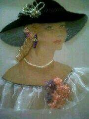Ribbon embroidery for Juanita