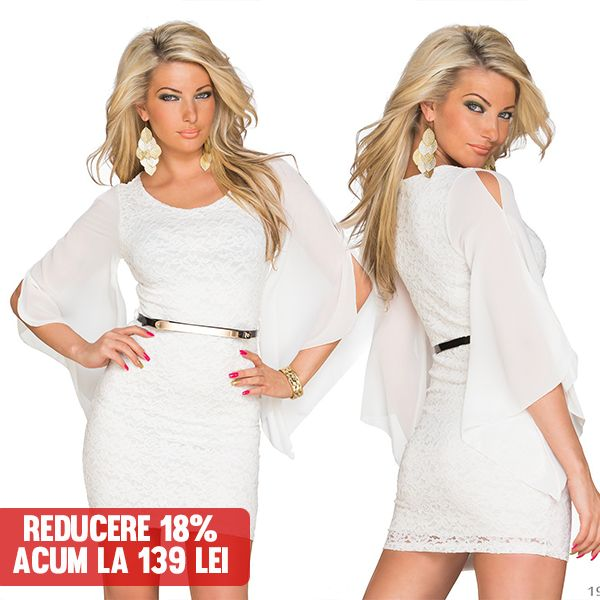Rochita Natori White >> Click pe poza pentru a intra pe site. Alege Rochita Natori White pentru evenimentul la care vrei sa arati perfect.    #rochii #rochiideseara #fashion #dress #rochiideocazie #NFR #NewFashionRomania #declub #VinereaNeagra #BlackFriday #Reduceri #fashion #BlackFridayFashion #ReduceriBlackFriday