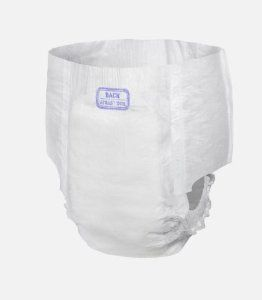 Dry-Time Youth/Medium Protective Underwear - Case of 60 by Dry-Time. $57.95. Medium, unisex, fits 40-70 lbs and measures 15''- 20'' - 60 per case. Latex free.. Utilize a moisture proof barrier to trap fluids and keep users dry.. Feels like real underwear.. DryTime Disposable Youth Protective Underwear - Case of 60  Medium, unisex, fits 40-70 lbs and measures 15''- 20'' - 60 per case      Features a soft waist and hip elastic for the comfortable fit of underwear.   ...