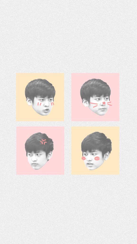 Chanwoo Wallpaper  Cr: pinkwinkchan