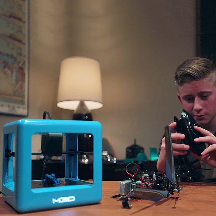 Micro 3D Printer & 3 Filaments