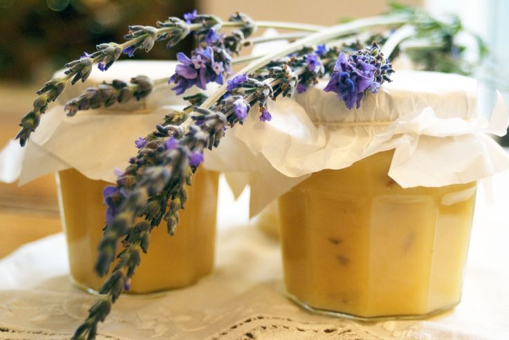 Lavender lemon curd, in celebration of spring and appreciating life's many little gifts...