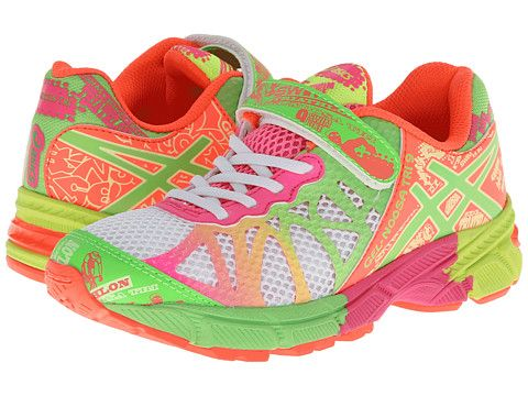 ASICS Kids Gel-Noosa Tri™ 9 PS (Toddler/Little Kid) White · ColorImage  SearchAsicsSearchingDiscount ShoesHot PinkLimesColourSearch