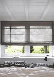 Puur design - Puur textiel in strak design, dat zijn de Luxaflex® Roman Shades.