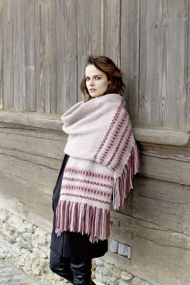 The Fatto a Mano 226 Home & Accessories book by Lang Yarns includes 46 knitting patterns and is packed full of cosy garments for winter! Featuring a wide selection of hats, scarves, wraps and throws, this pattern book showcases some of Lang's most beautiful yarns such as Alice, Nova, Virginia, Royal Alpaca, and Mohair Luxe Pailettes.