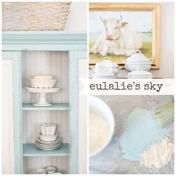 Miss Mustard Seed Milk Paint Eulalie's Sky