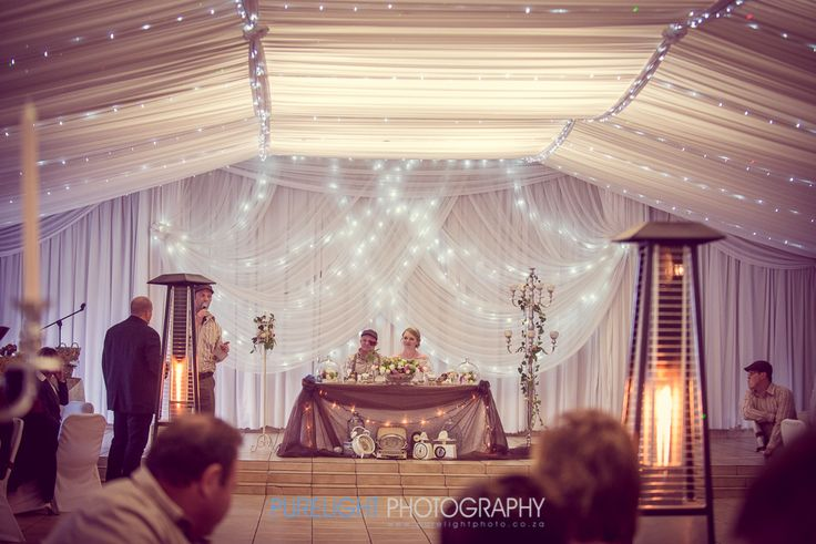 Just 50 metres from the chapel, we have a beautiful and elegant fully draped banqueting hall with comfortable seating space for around 80 – 200 guests! - - - #wedding #engaged #flowers #bloom #happy #reception #heasked #shesaidyes #gettingmarried #banquetinghall #engagedlife #love #rose #southafrica #instagood #me #cute #follow #followme #photooftheday #smile #like #beautiful