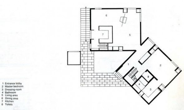 Louis I. Kahn | Fisher House | 1967