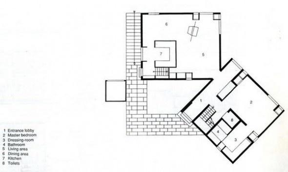 Louis I. Kahn | Fisher House | 1967