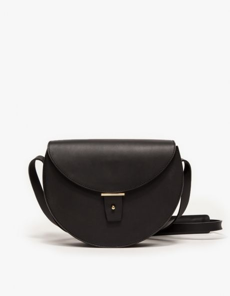 Half Moon Bag in Black