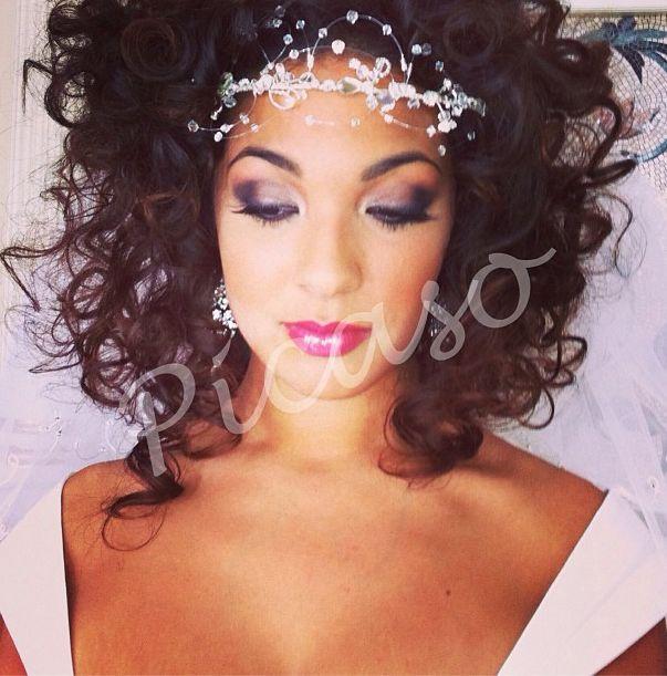 #Hair by Marisa and #makeup by Lucie for Today's Bride Magazine. #bridal #bridalhair #bridalmakeup #wedding #weddinghair #weddingmakeup