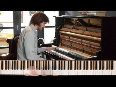 How to Play James Booker Style Slow Blues - Paddy Milner - YouTube