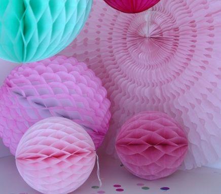 Papir bolde og vifter