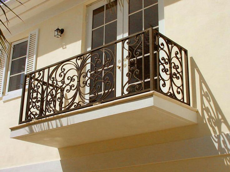 These Decorative Wrought Iron Balconies Ranging From
