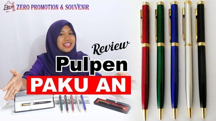 Review Souvenir Pen Paku An – Pulpen Paku Besi